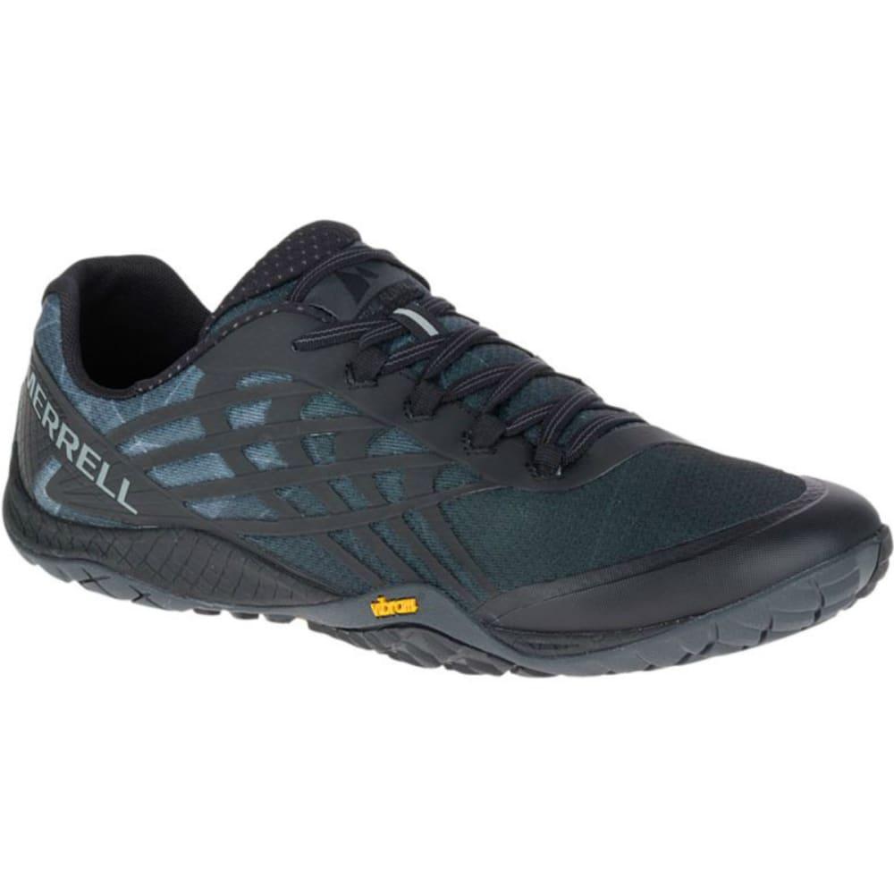 MERRELL Men's Trail Glove 4 Trail Running Shoes, Black - BLACK