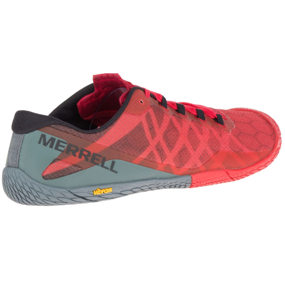 MERRELL Men's Vapor Glove 3 Trail Running Shoes, Molten Lava - MOLTEN LAVA
