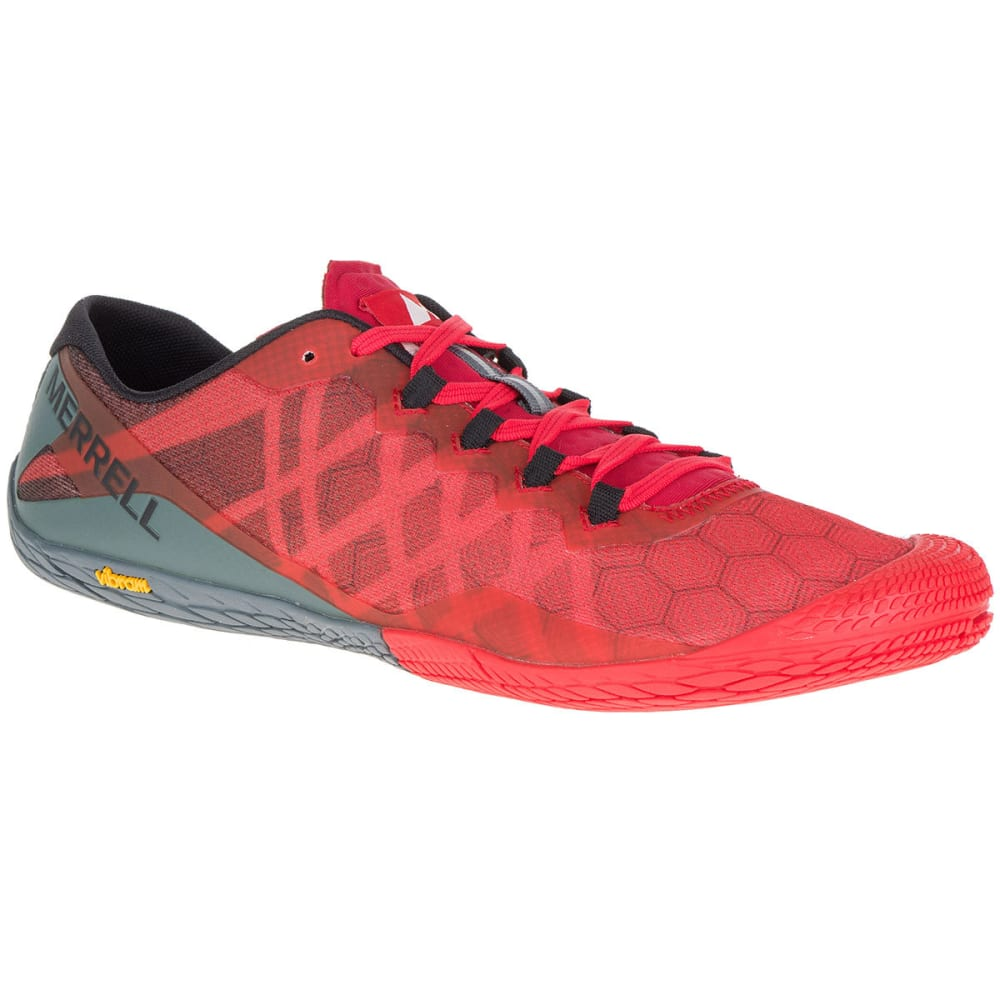 MERRELL Men's Vapor Glove 3 Trail Running Shoes - MOLTEN ...