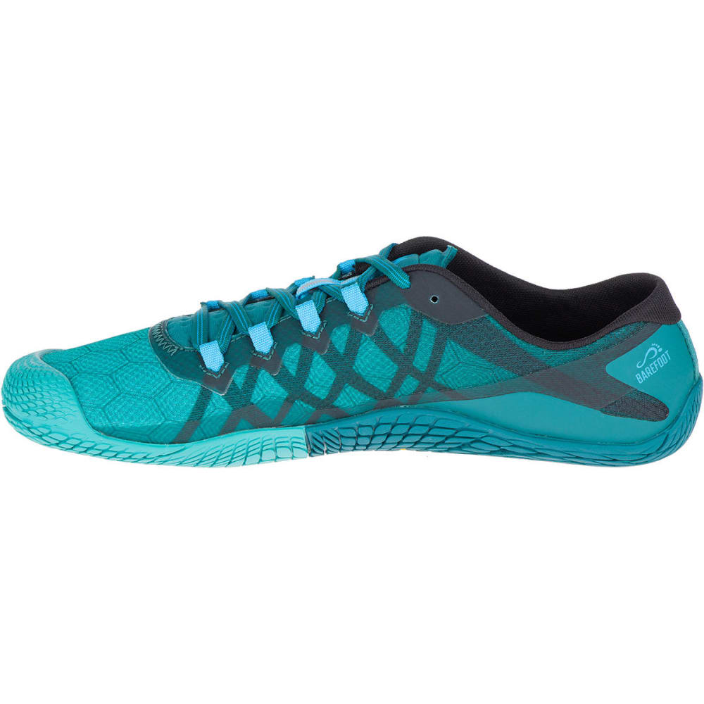 MERRELL Men's Vapor Glove 3 Trail Running Shoes, Shaded Spruce - SHADED SPRUCE