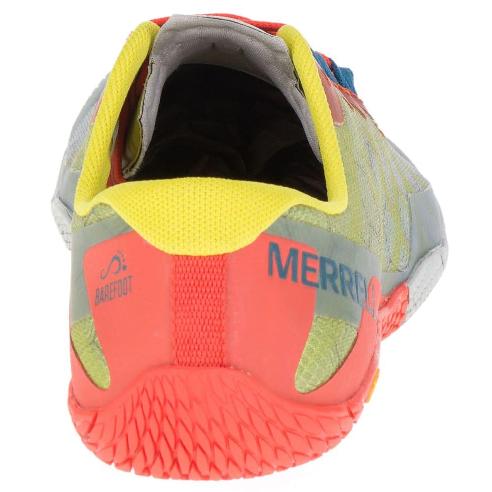 MERRELL Men's Vapor Glove 3 Trail Running Shoes, Orange/Green - ORANGE GREEN