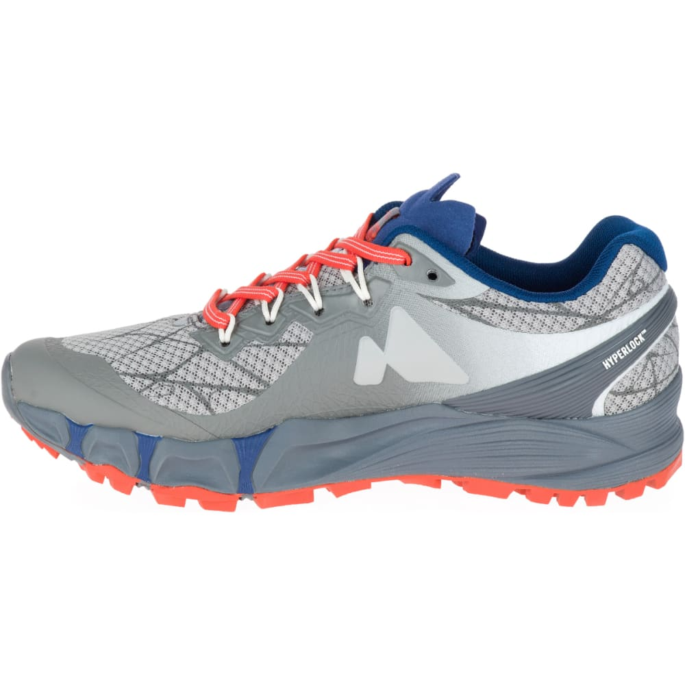 MERRELL Women's Agility Peak Flex Trail Running Shoes, Paloma - PALOMA