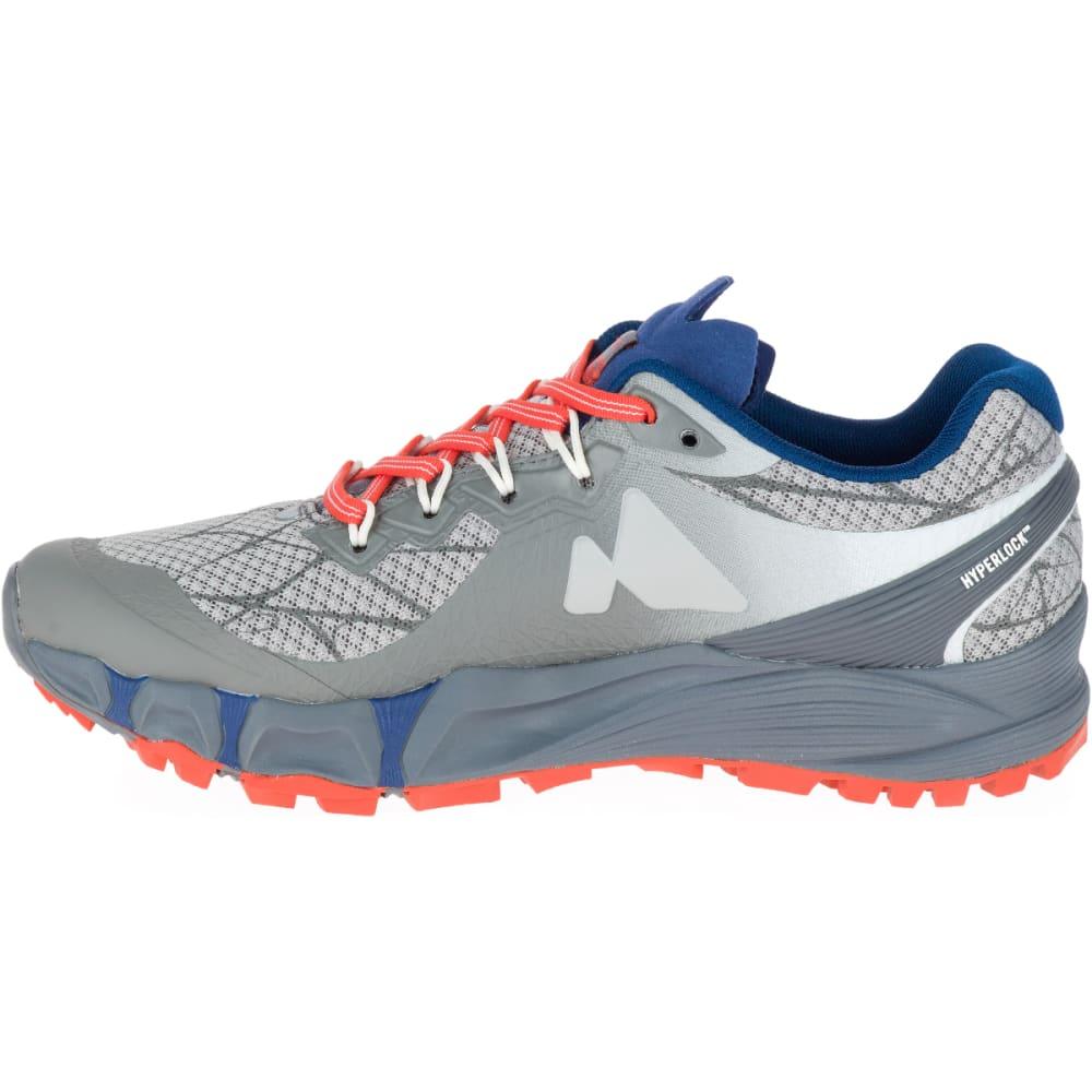 MERRELL Women's Agility Peak Flex Trail Running Shoes, Paloma - PALOMA