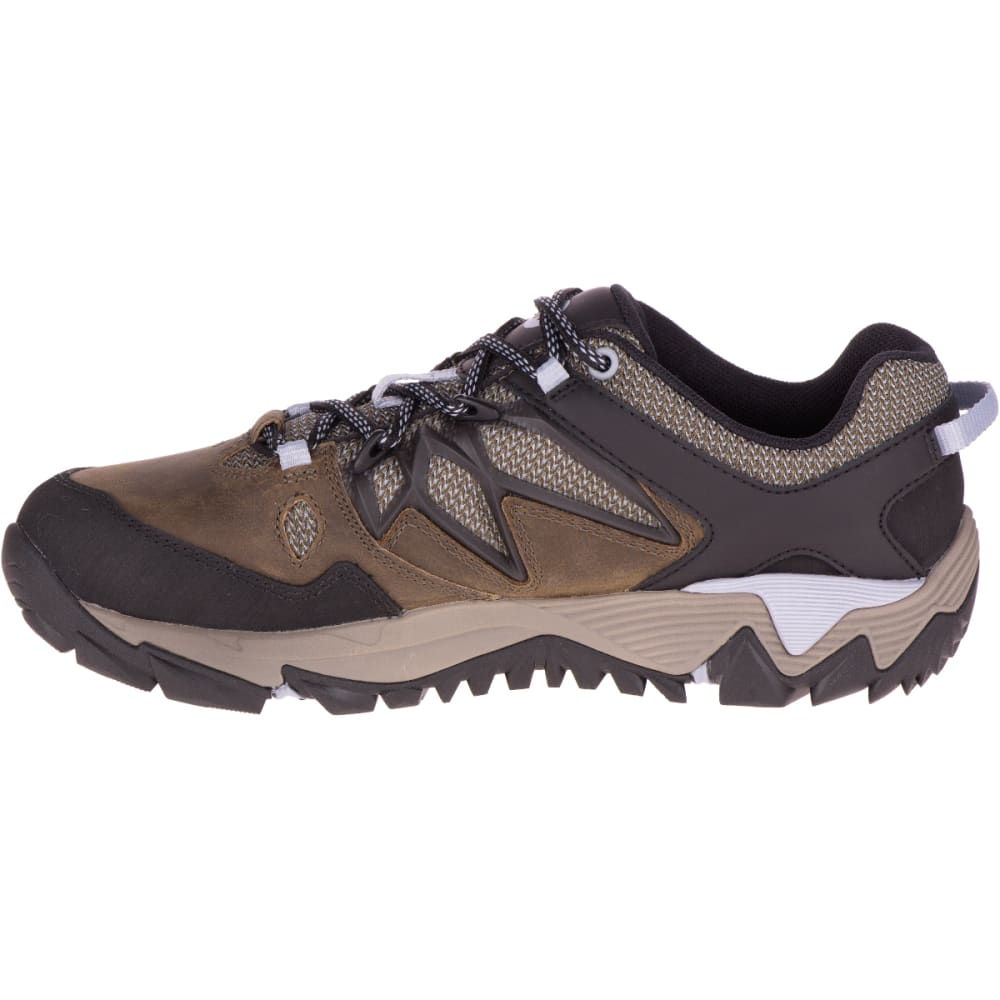 MERRELL Women's All Out Blaze 2 Hiking Shoes, Dark Olive - DARK OLIVE