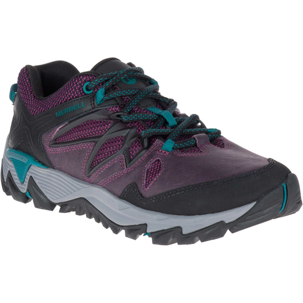 MERRELL Women's All Out Blaze 2 Hiking Shoes, Berry - BERRY