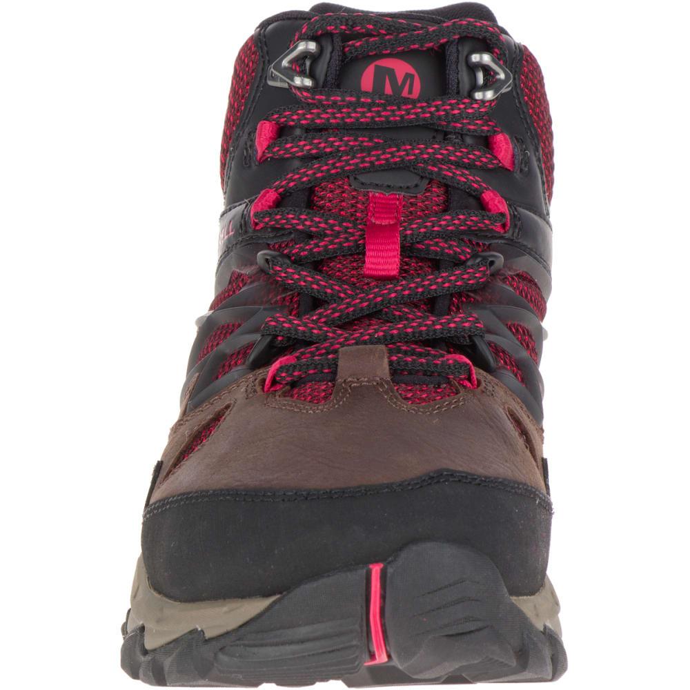 MERRELL Women's All Out Blaze 2 Mid Waterproof Hiking Boots, Cinnamon - CINNAMON