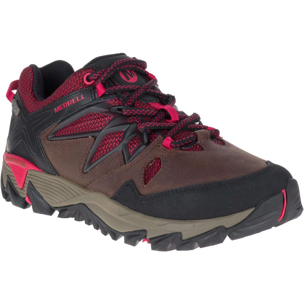 MERRELL Women's All Out Blaze 2 Waterproof Hiking Shoes, Cinnamon - CINNAMON