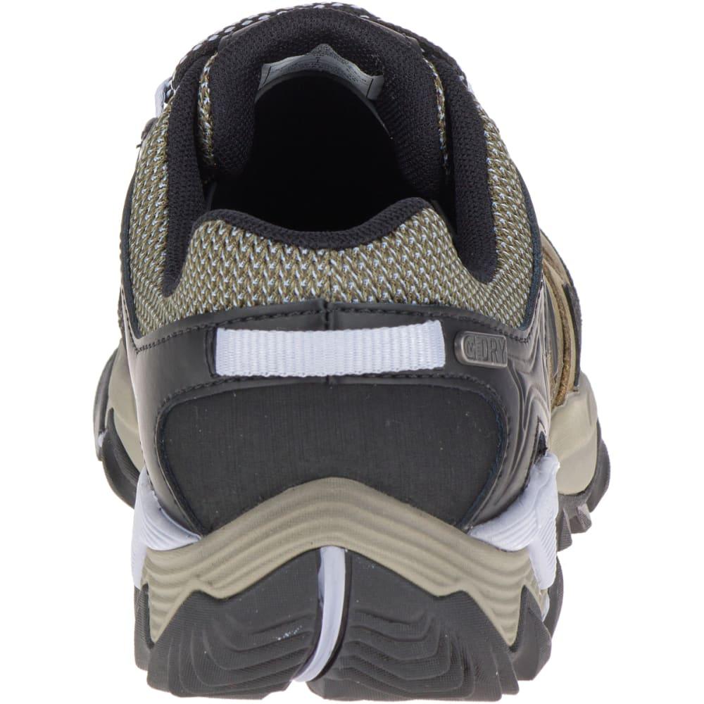 MERRELL Women's All Out Blaze 2 Waterproof Hiking Shoes, Dark Olive - DARK OLIVE