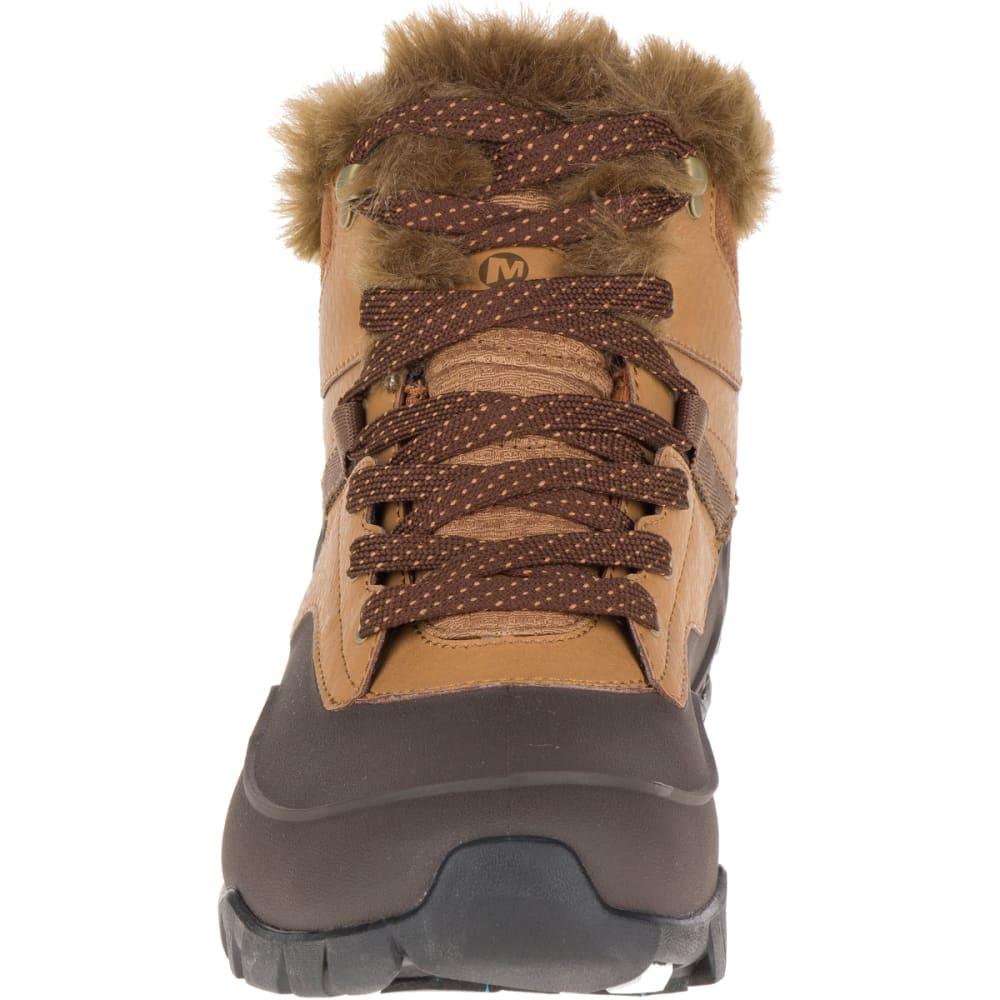 MERRELL Women's Aurora 6 Ice+ Waterproof Winter Boots - MERRELL TAN