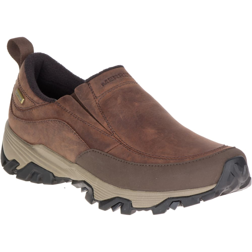 MERRELL Women's ColdPack Ice+ Moc Waterproof Shoes, Cinnamon - CINNAMON