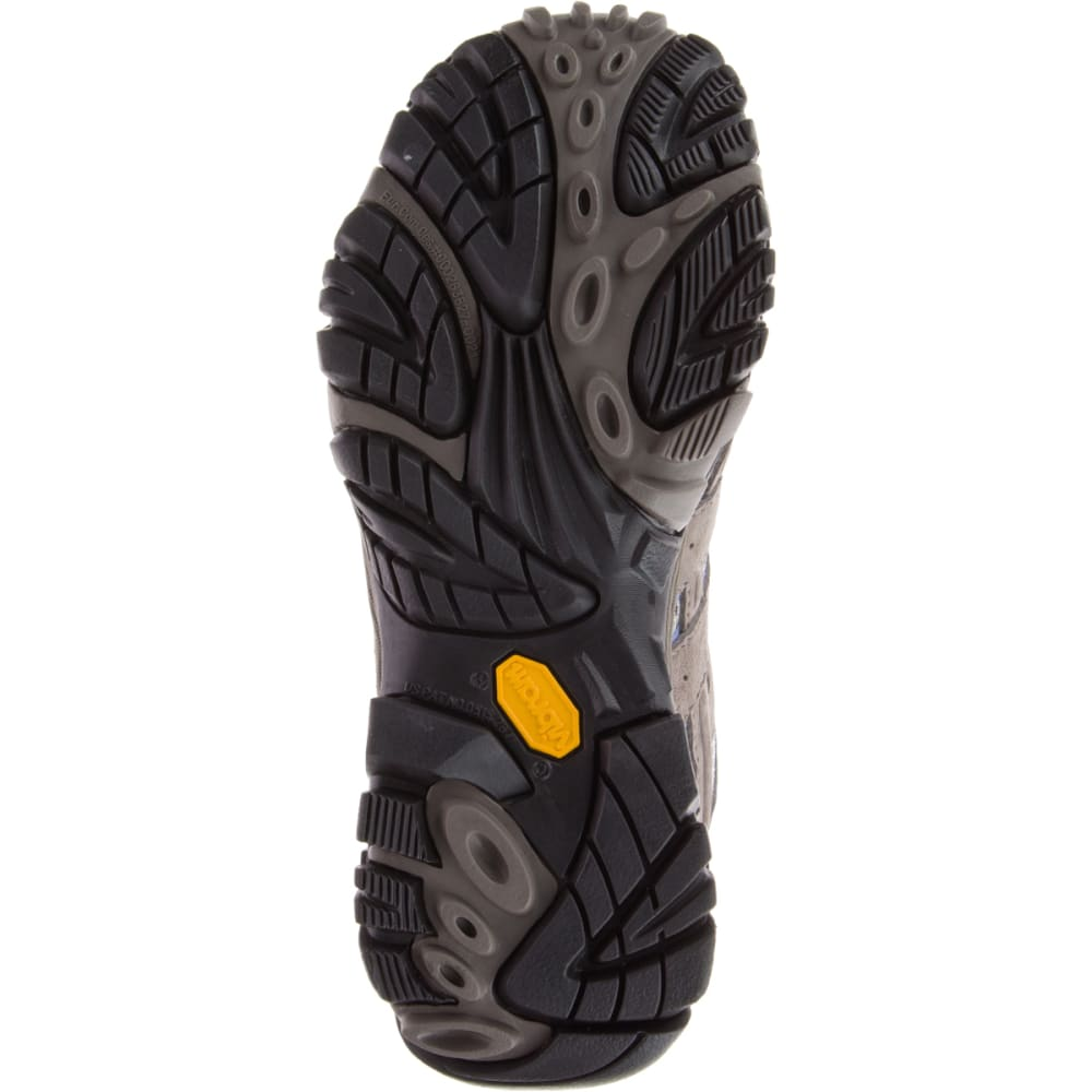 MERRELL Women's Moab 2 Mid Waterproof Hiking Boots, Falcon - FALCON