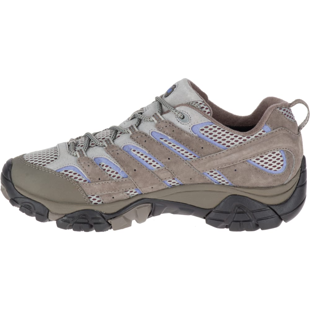 MERRELL Women's Moab 2 Waterproof Hiking Shoes, Falcon - FALCON