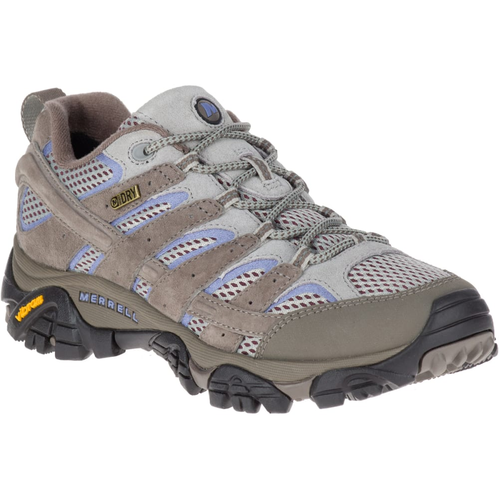 MERRELL Women's Moab 2 Waterproof Hiking Shoes, Falcon 5
