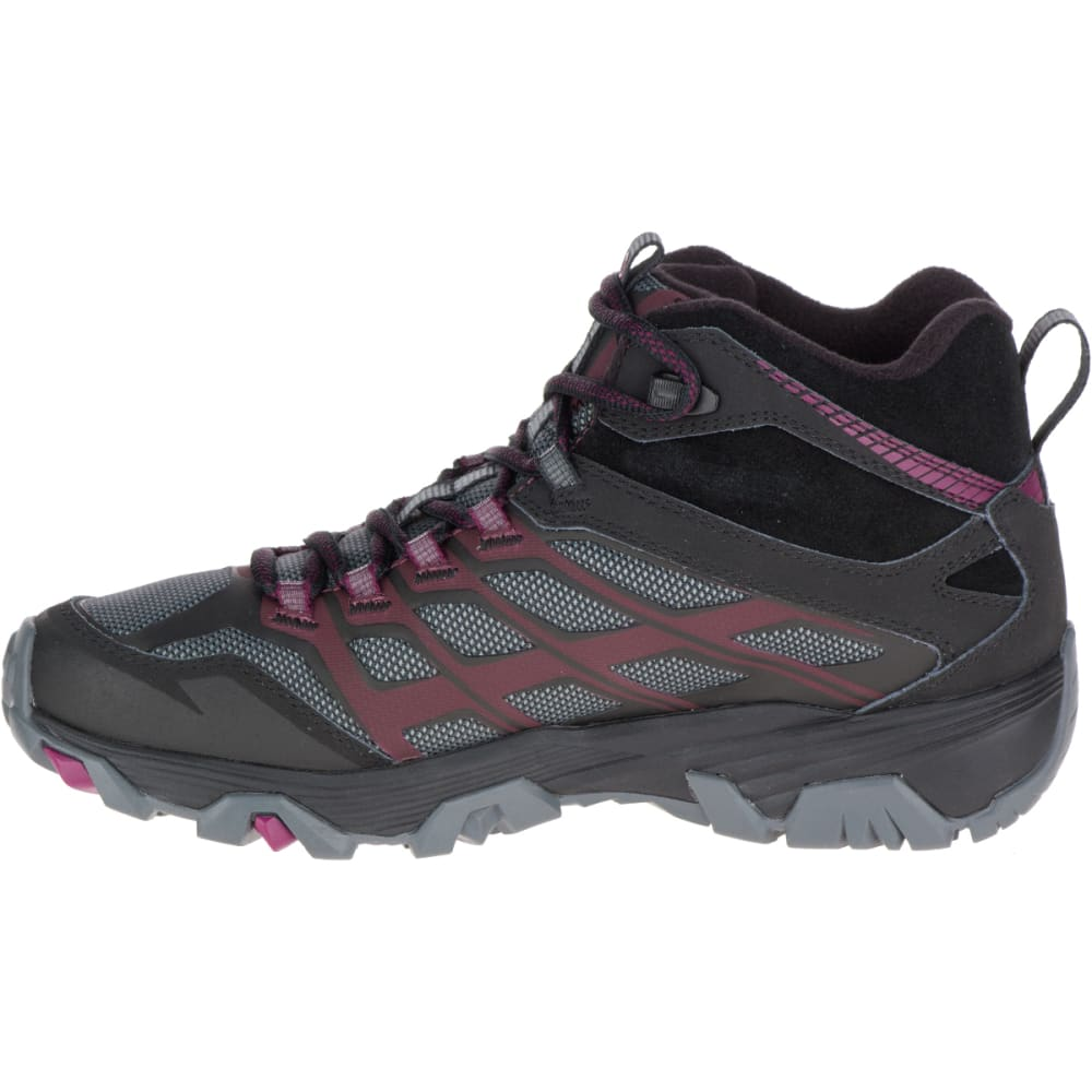 MERRELL Women's Moab FST Ice+ Thermo Boots, Black - BLACK