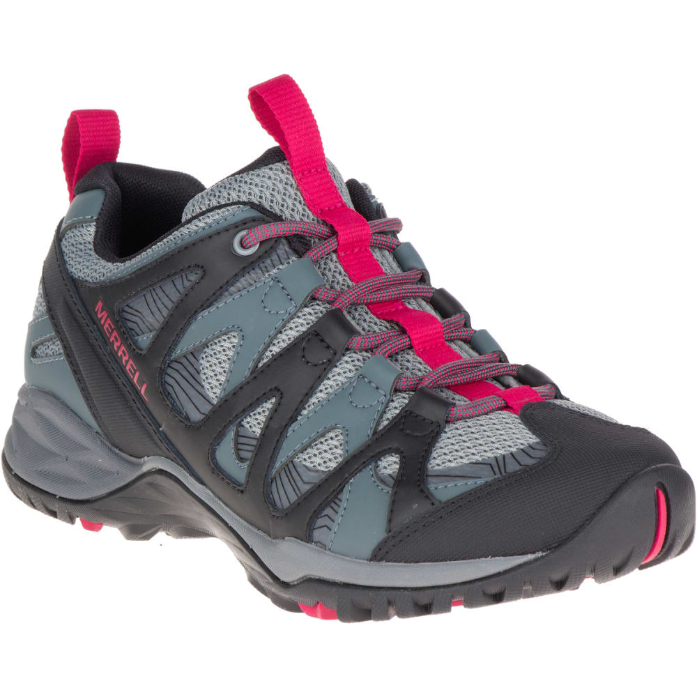 MERRELL Women's Siren Hex Q2 Hiking Shoes, Turbulence - TURBULENCE
