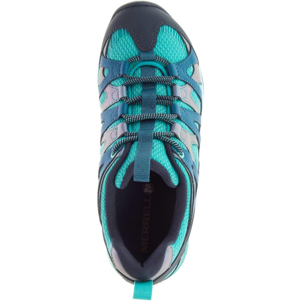 MERRELL Women's Siren Hex Q2 Hiking Shoes, Baltic - BALTIC