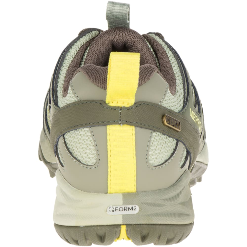 MERRELL Women's Siren Hex Q2 Waterproof Hiking Shoes, Olive - OLIVE