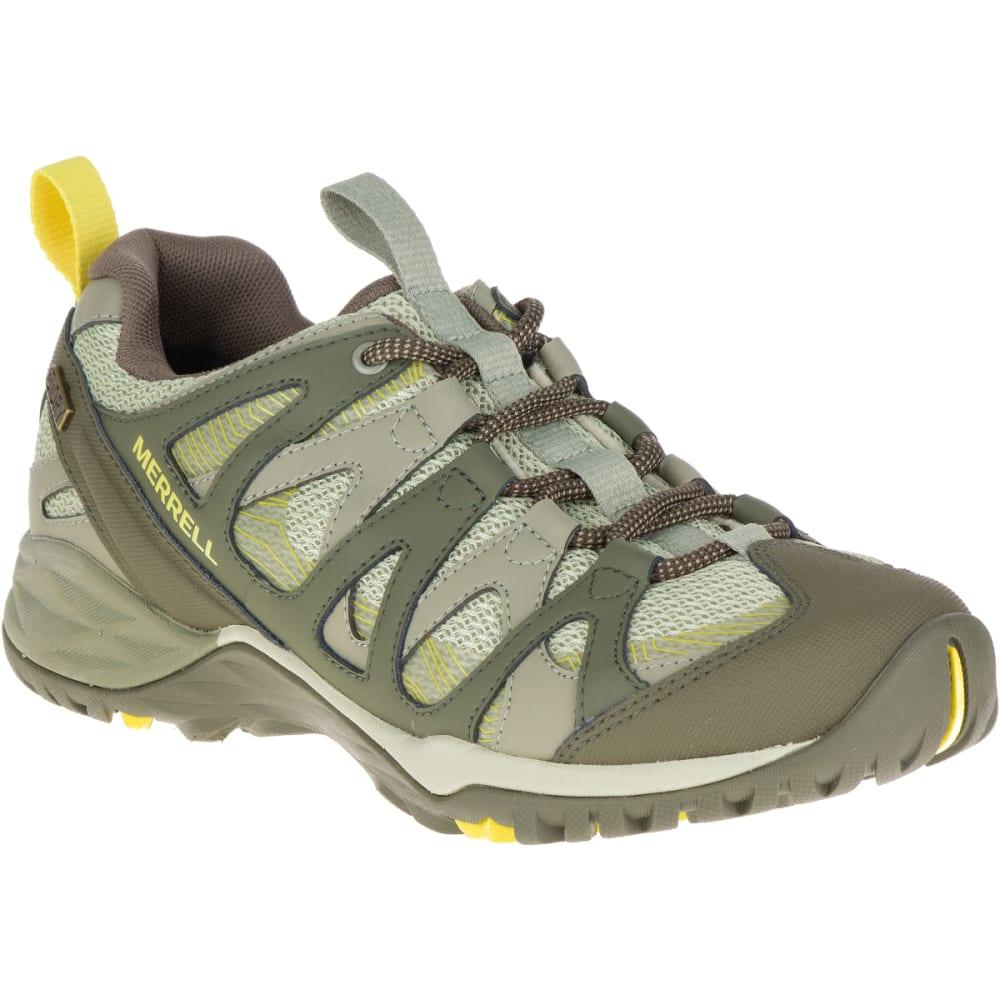 MERRELL Women's Siren Hex Q2 Waterproof Hiking Shoes, Olive - OLIVE