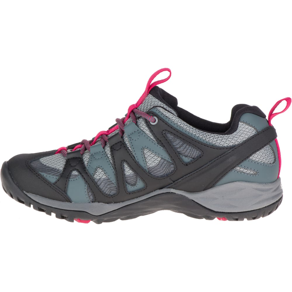 MERRELL Women's Siren Hex Q2 Waterproof Hiking Shoes, Turbulence - TURBULENCE