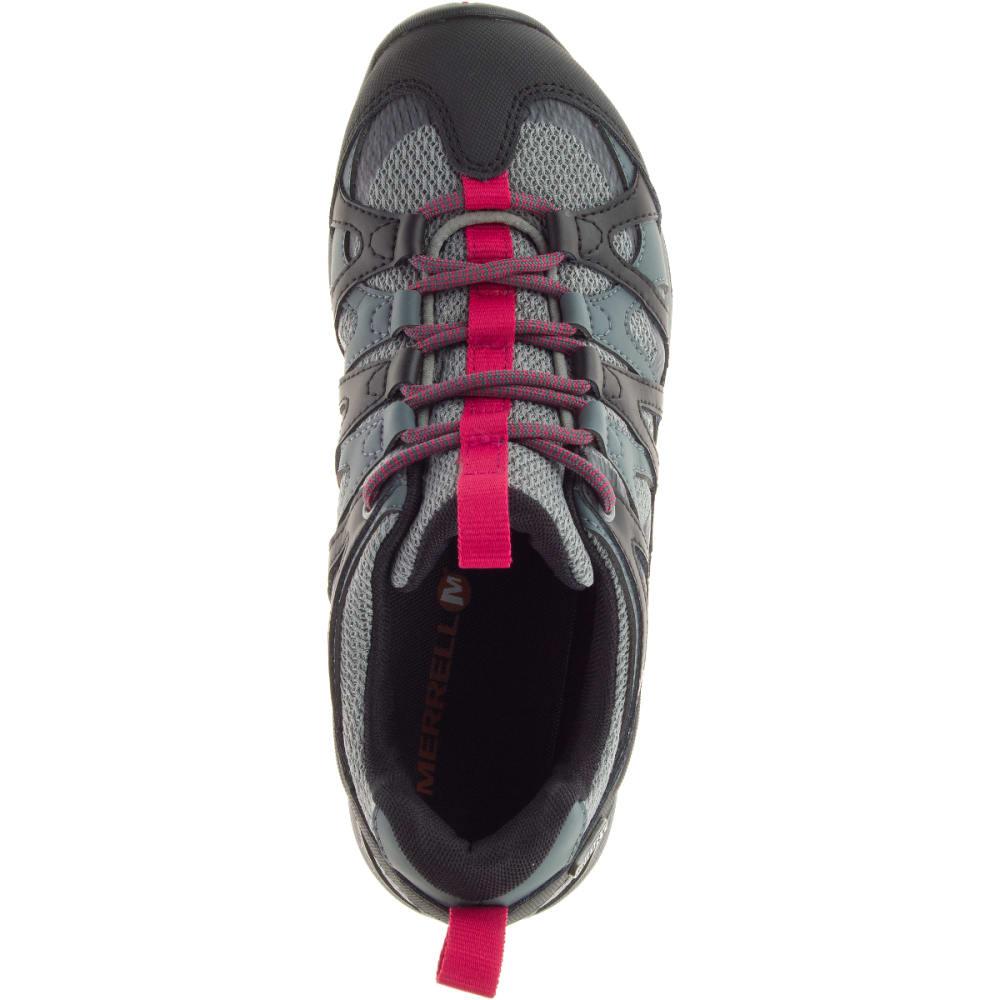 MERRELL Women's Siren Hex Q2 Waterproof Hiking Shoes, Turbulence - TURBULENCE