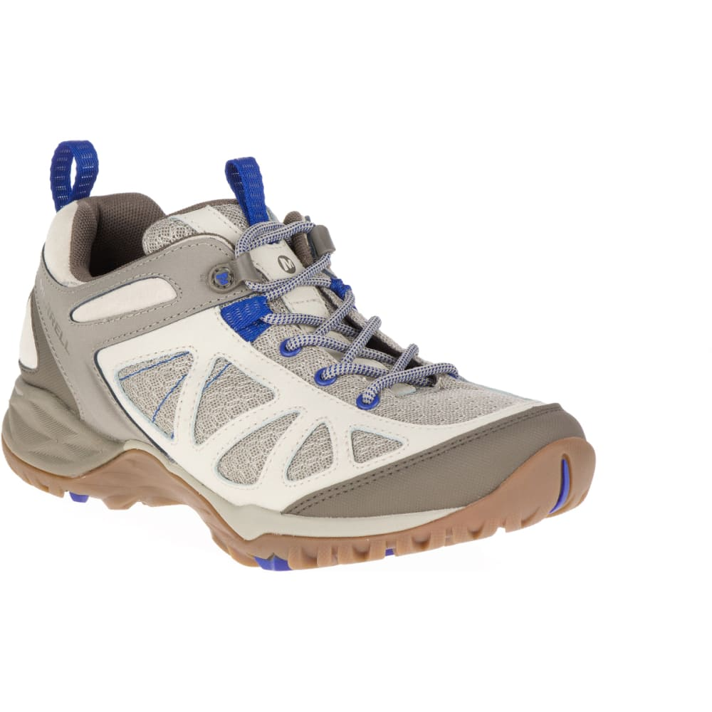 MERRELL Women's Siren Sport Q2 Hiking Shoes, Oyster Grey - OYSTER GREY