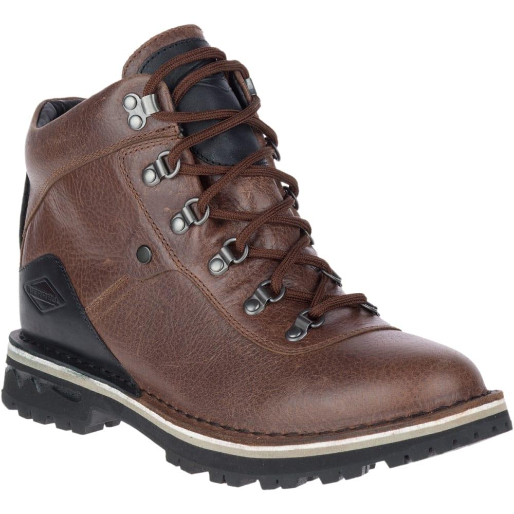 MERRELL Women's Sugarbush Valley Waterproof Boots, Dark Earth - DARK EARTH