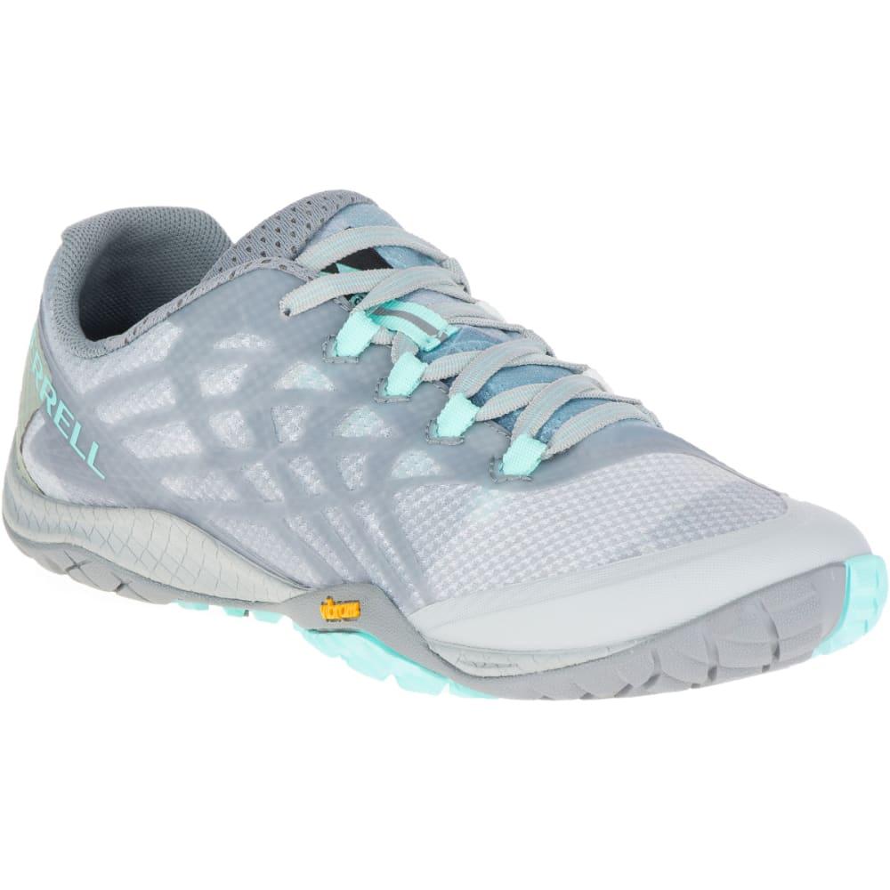 MERRELL Women's Trail Glove 4 Trail Running Shoes, High Rise - HIGH RISE