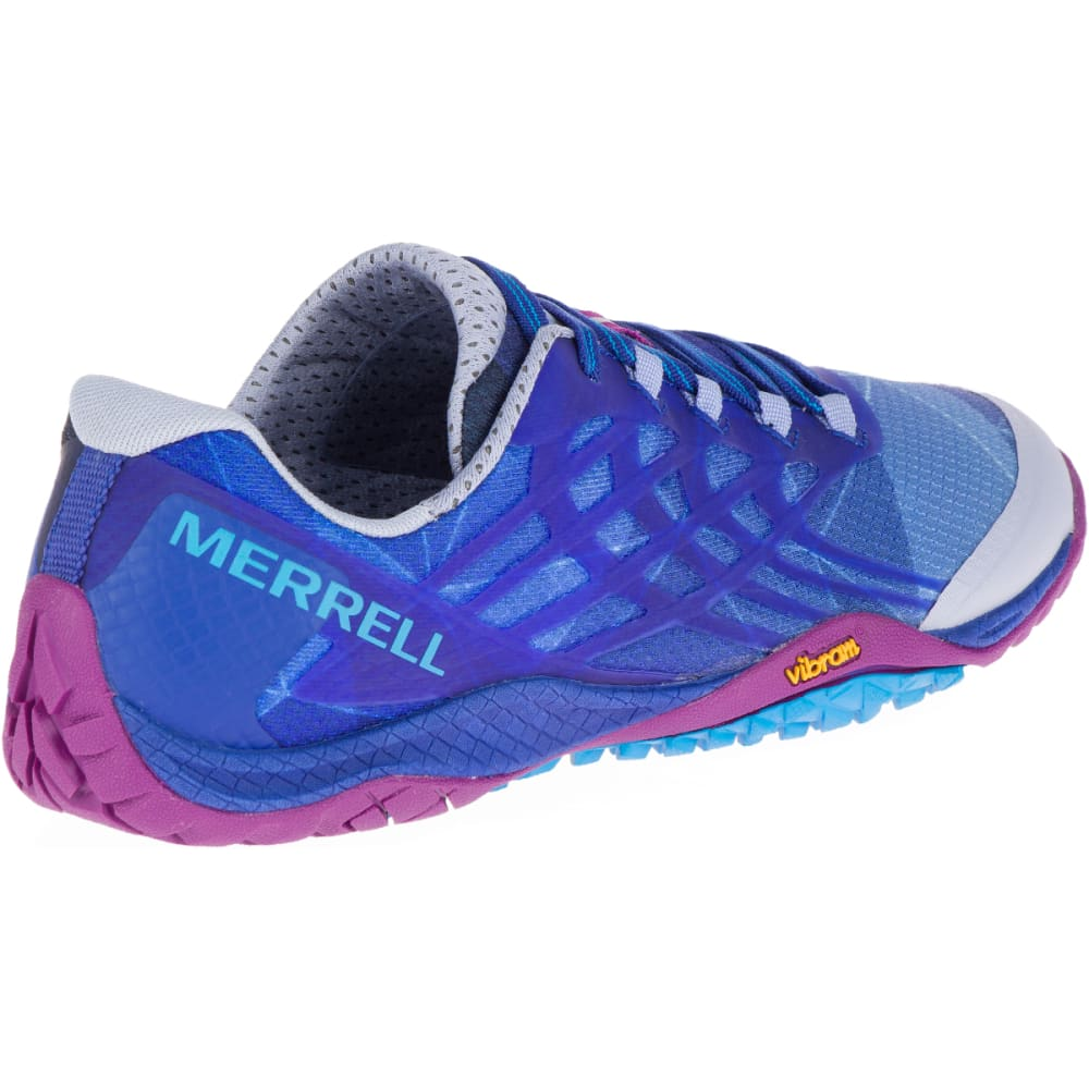 wholesale dealer ed756 5527d MERRELL Women's Trail Glove 4 Trail Running Shoes, Aleutian ...