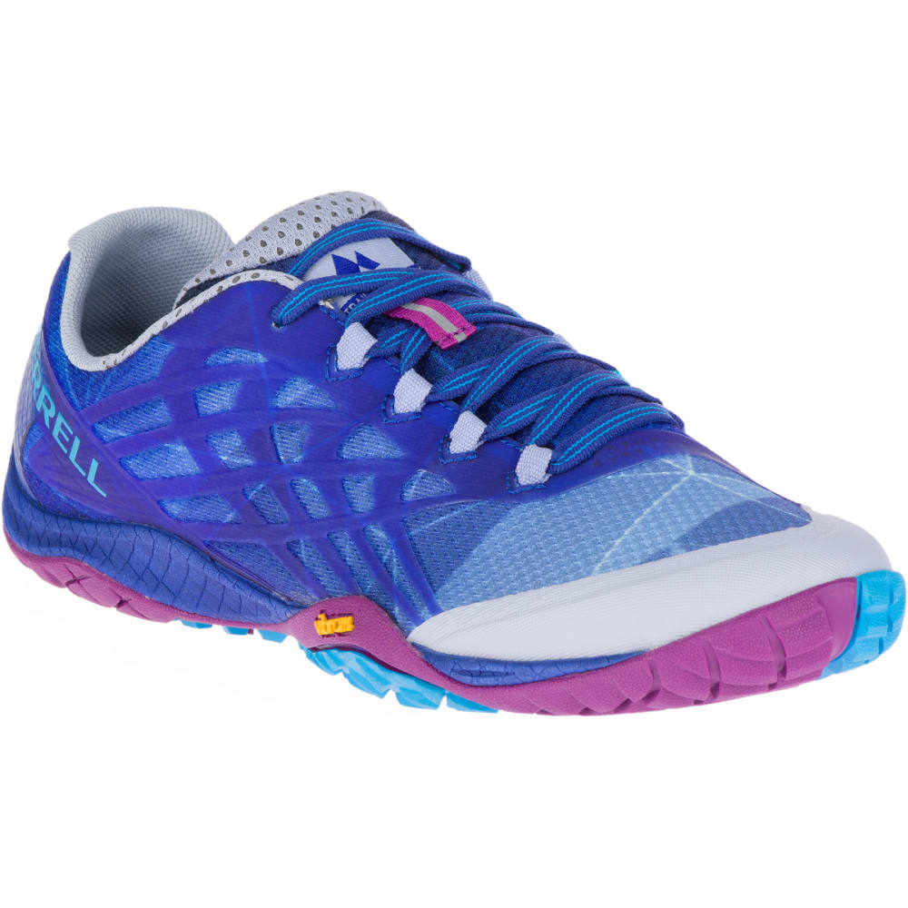 MERRELL Women's Trail Glove 4 Trail Running Shoes, Aleutian - ALUTIEN
