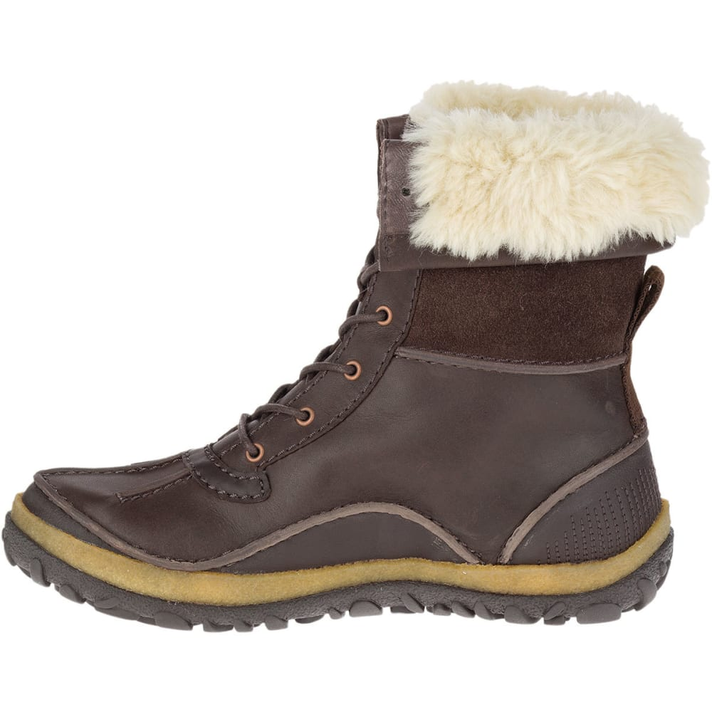 cheapest factory outlet various styles MERRELL Women's Tremblant Mid Polar Waterproof Boots, Espresso ...