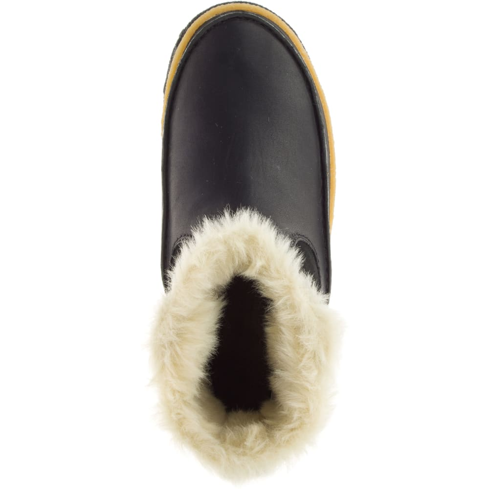 MERRELL Women's Tremblant Pull-On Polar Waterproof Boots, Black - BLACK