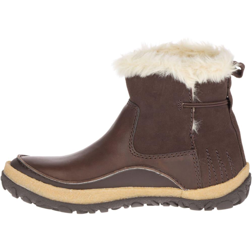MERRELL Women's Tremblant Pull-On Polar Waterproof Boots, Espresso - ESPRESSO