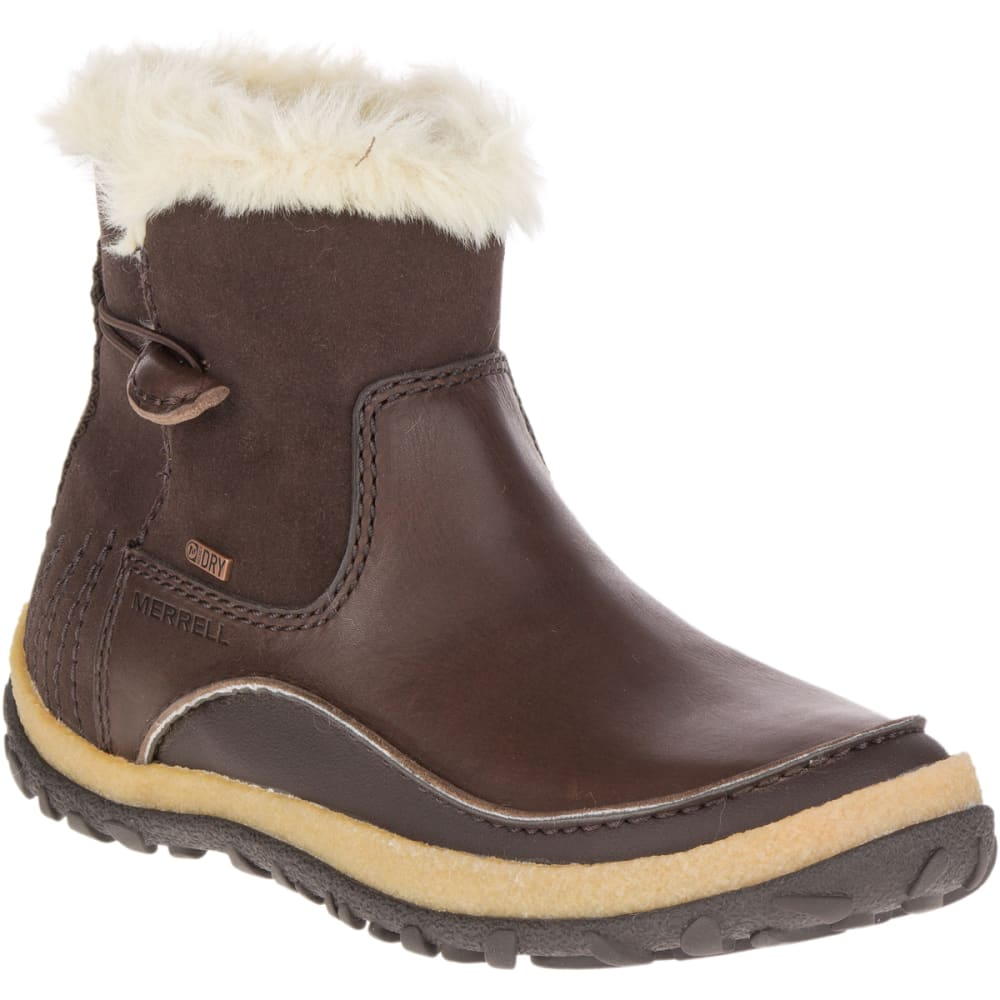 MERRELL Women's Tremblant Pull-On Polar Waterproof Boots, Espresso - ESPRESSO