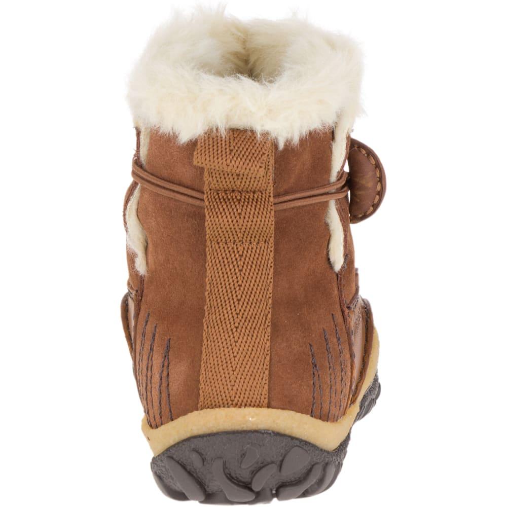 MERRELL Women's Tremblant Pull-On Polar Waterproof Boots, Oak - MERRELL OAK