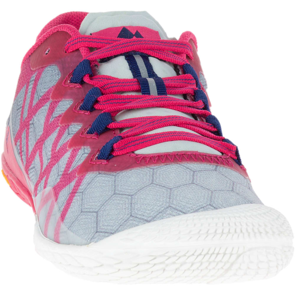 MERRELL Women's Vapor Glove 3 Shoes, Azalea - AZALEA