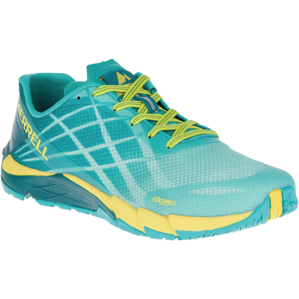 MERRELL Women's Bare Access Flex Running Shoes, Aruba Blue - ARUBA BLUE