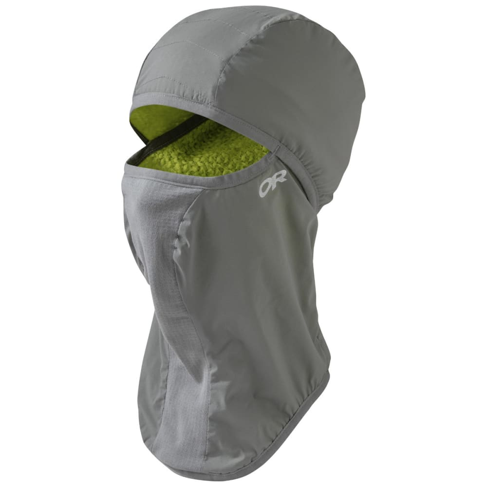 OUTDOOR RESEARCH Ascendant Balaclava - PEWTER/LEMONGRASS