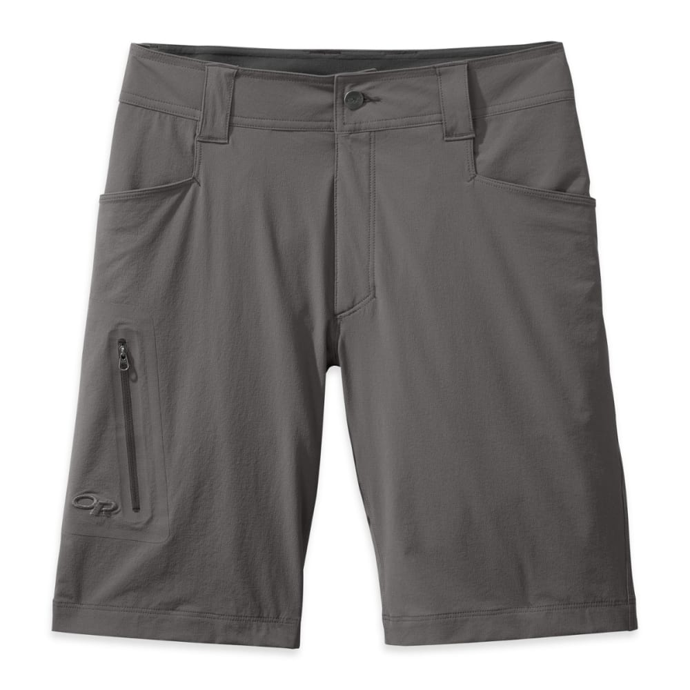 """OUTDOOR RESEARCH Men's Ferrosi 10"""" Shorts - PEWTER"""