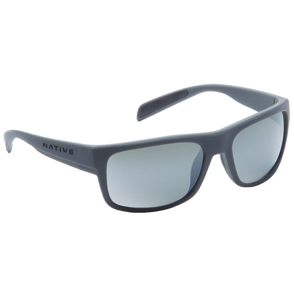 NATIVE EYEWEAR Ashdown Sunglasses, Granit/Silver Reflex - GRANITE