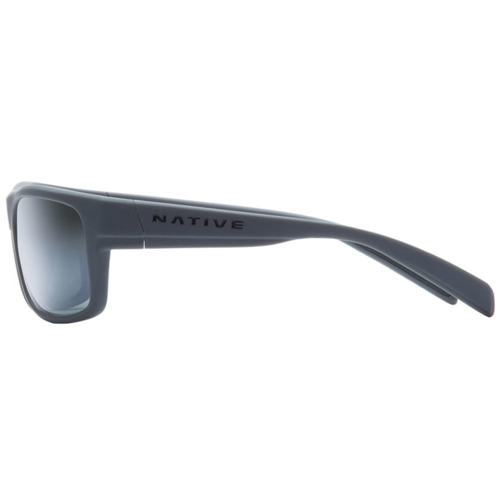 NATIVE EYEWEAR Ashdown Sunglasses, Granit/Silver Reflex - GRANITE