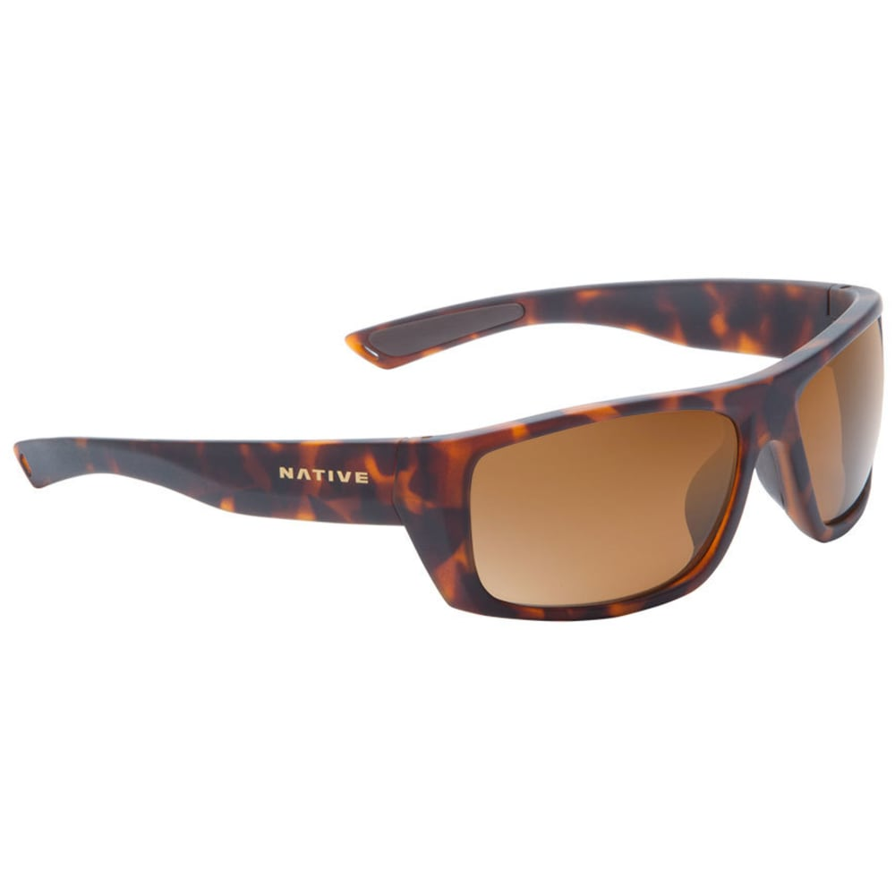 NATIVE EYEWEAR Distiller Sunglasses, Matte Dark Tort/Brown - MATTE DK TORTOISE