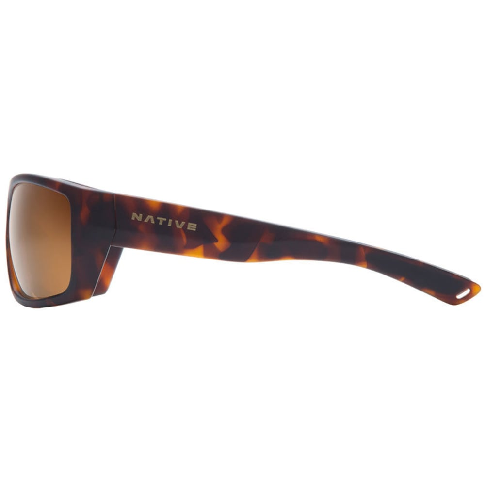 NATIVE EYEWEAR Distiller Sunglasses, Matte Dark Tort/Brown - MATTE DK TORTOISE