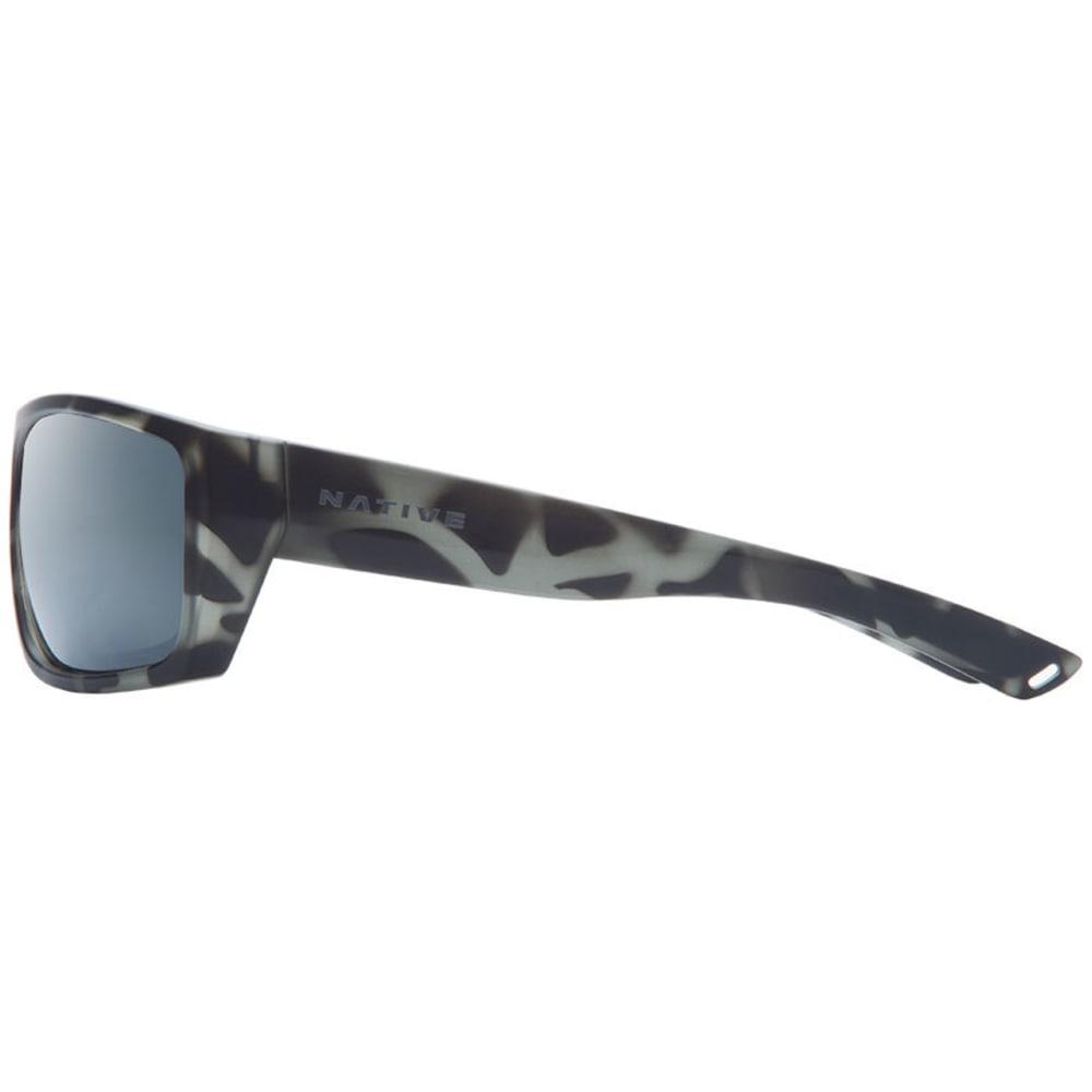 NATIVE EYEWEAR Distiller Sunglasses, Matte Gray Tort/Silver Reflex - MATTE GRAY TORTOISE
