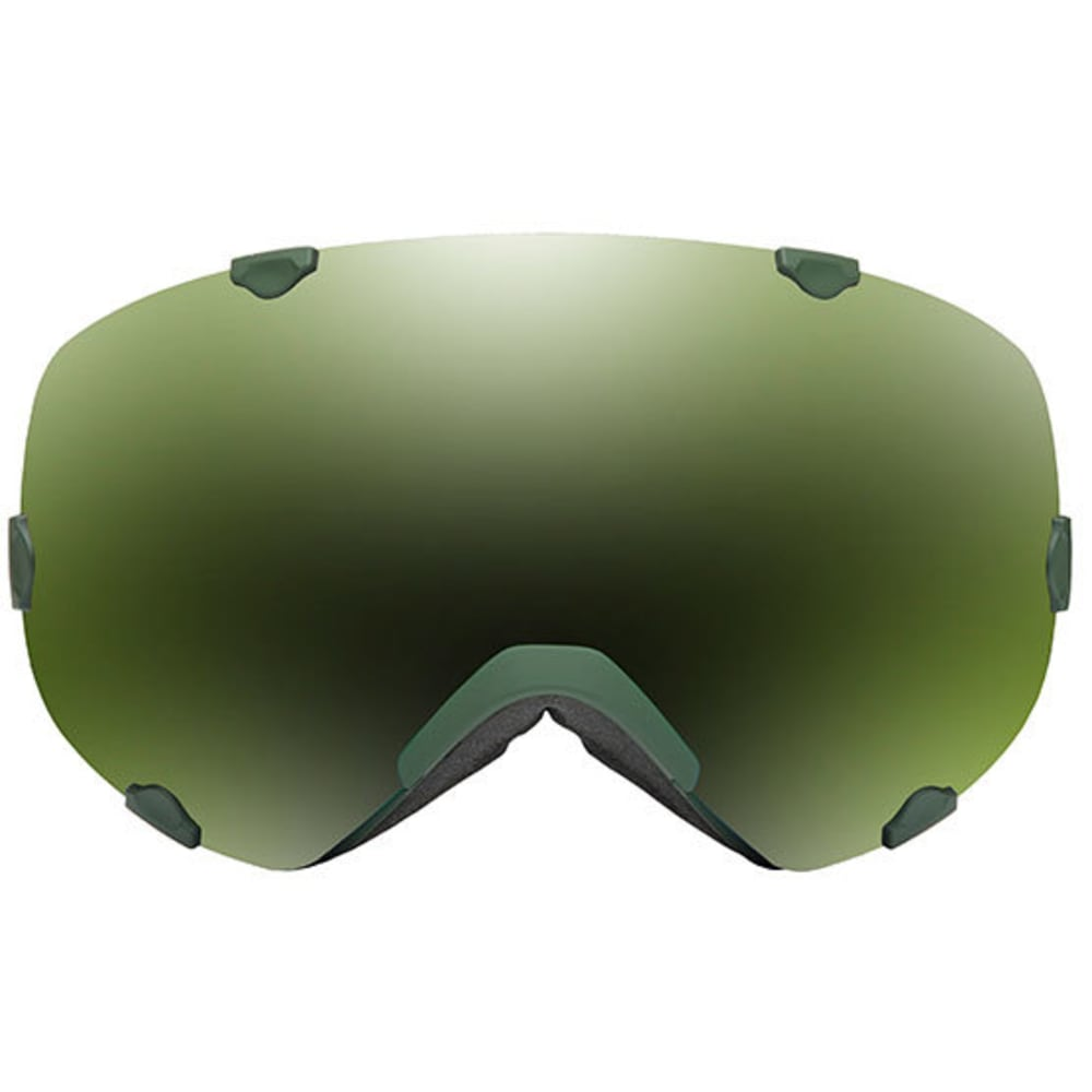 NATIVE EYEWEAR Spindrift Goggles, Army Green/SnowTuned Amber Green - ARMY GREEN