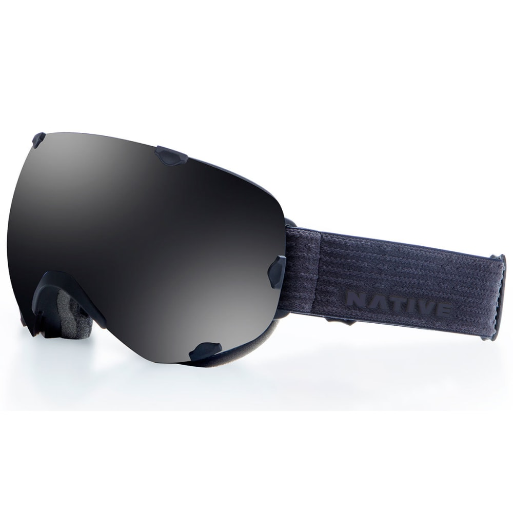 NATIVE EYEWEAR Spindrift Goggles, Black Jack/Dark Gray - BLACK JACK