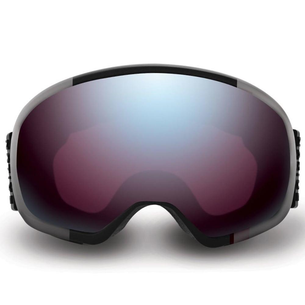 NATIVE EYEWEAR Tank7 Goggles, Aluminum/SnowTuned Rose Blue - ALUMINUM
