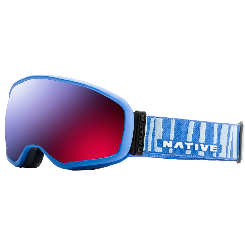 NATIVE EYEWEAR Tank7 Goggles, Powder Blue/SnowTuned Rose Blue - POWDER BLU