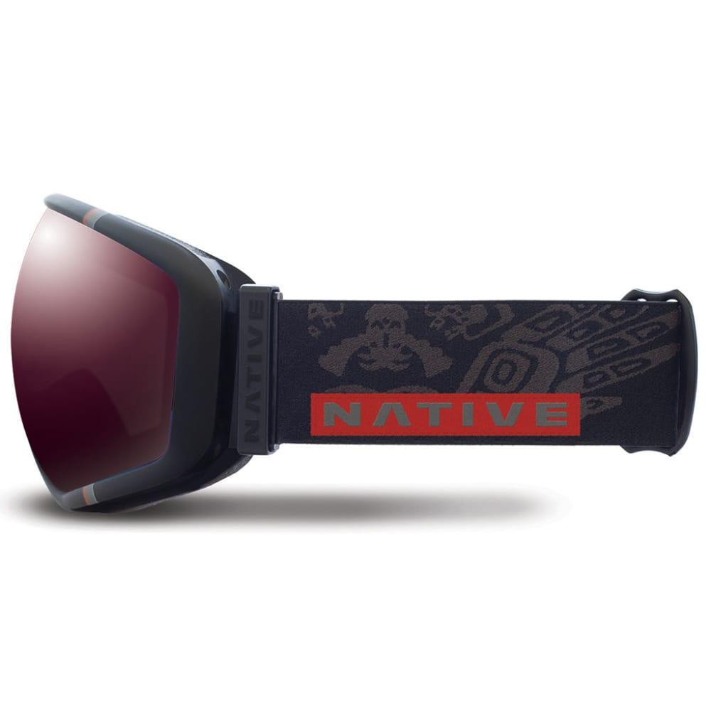 NATIVE EYEWEAR Tank7 Goggles, T-Bird/Rose React - T-BIRD