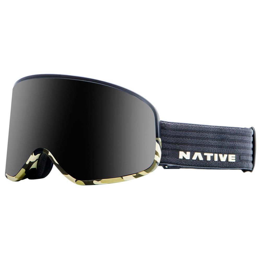 NATIVE EYEWEAR Tenmile Goggles, Black Camo/Dark Gray - BLACK CAMO