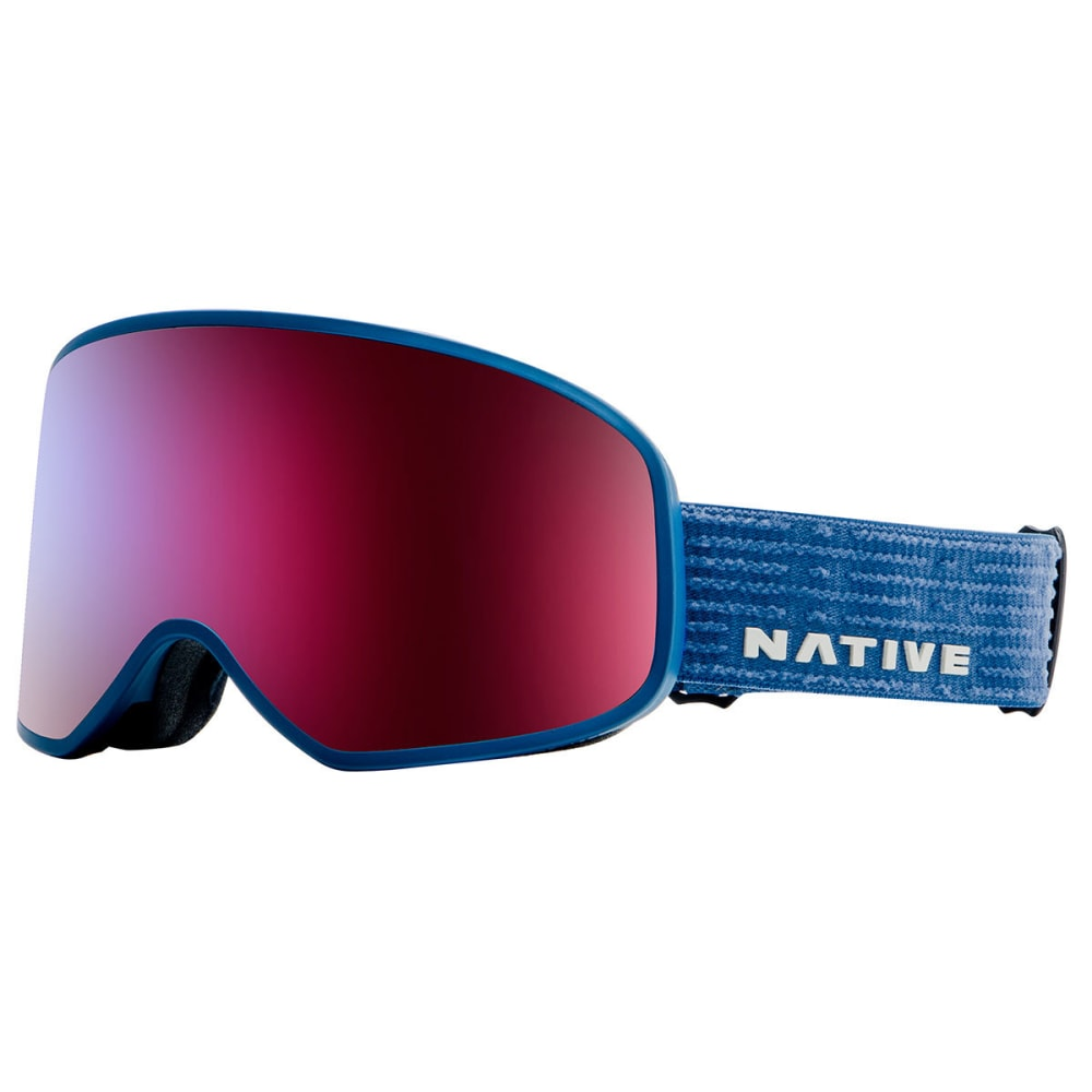NATIVE EYEWEAR Tenmile Goggles, Cobalt/SnowTuned Rose Blue - COBALT